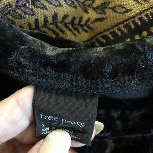 Velour Blk sweatshirt